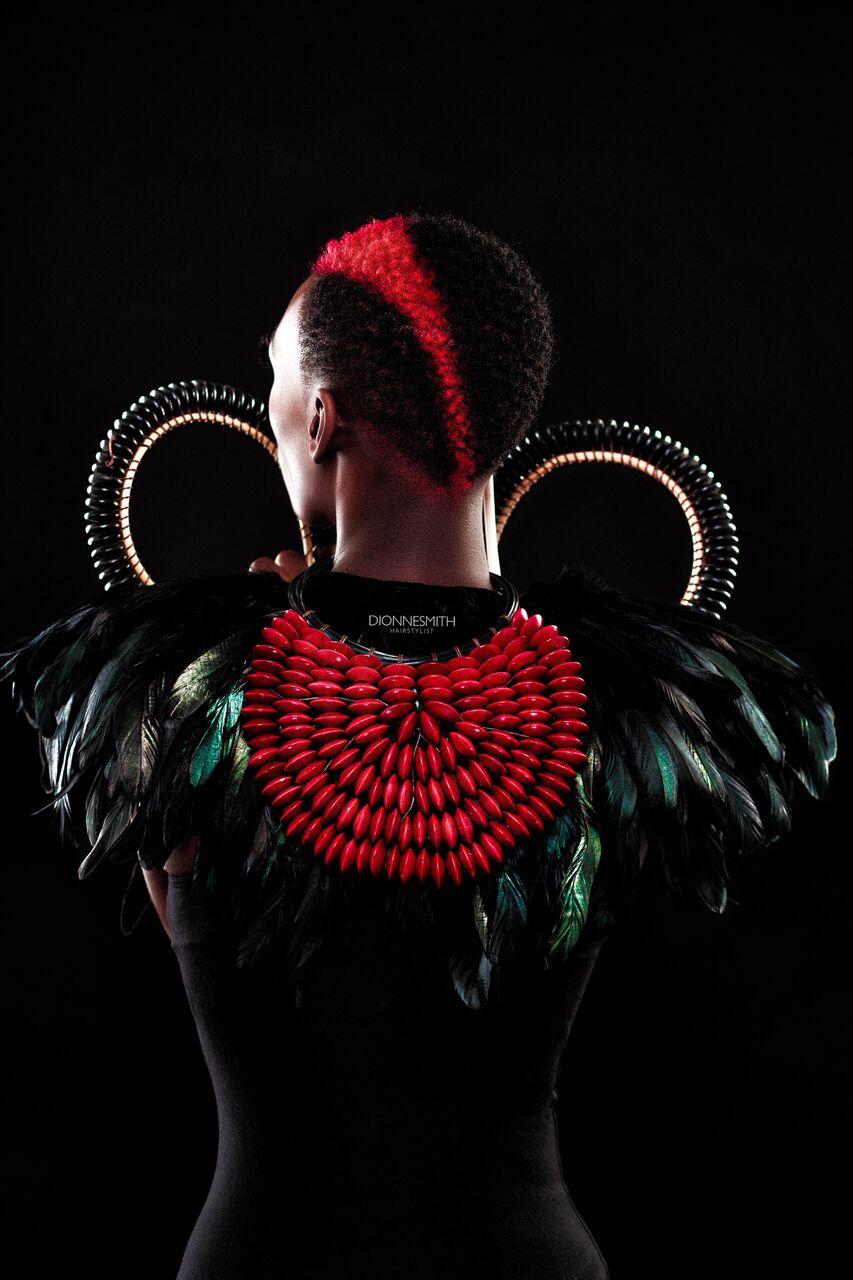 Joy Adenuga Takes Us To Wakanda With This Beauty Editorial