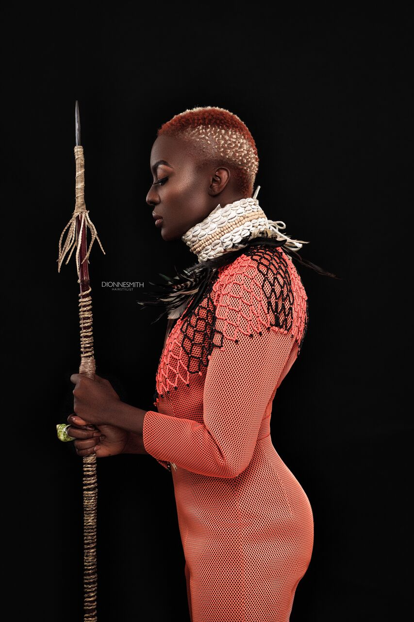 Joy Adenuga Takes Us To Wakanda With This Beauty Editorial