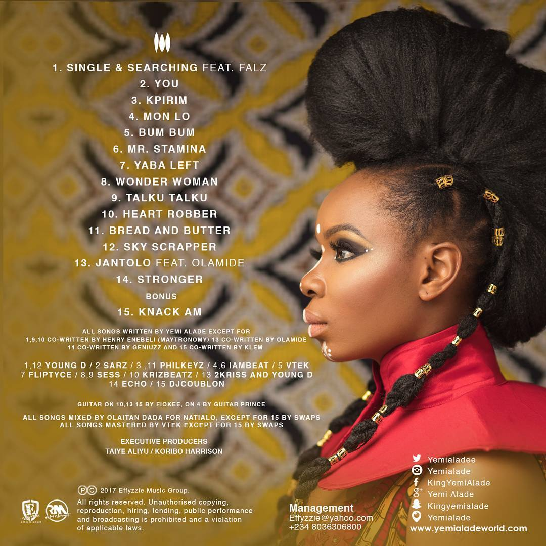 Yemi Alade Is The 1 Hair Chameleon And Here S Why