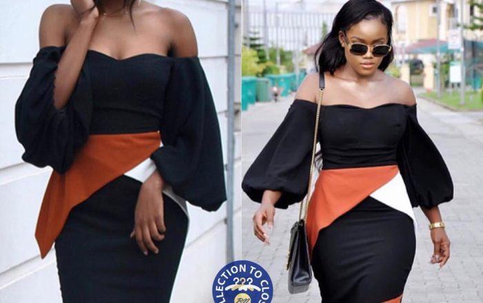 Issa Look! #BBNaija's CeeC Totally Slayed this Wana Sambo Dress