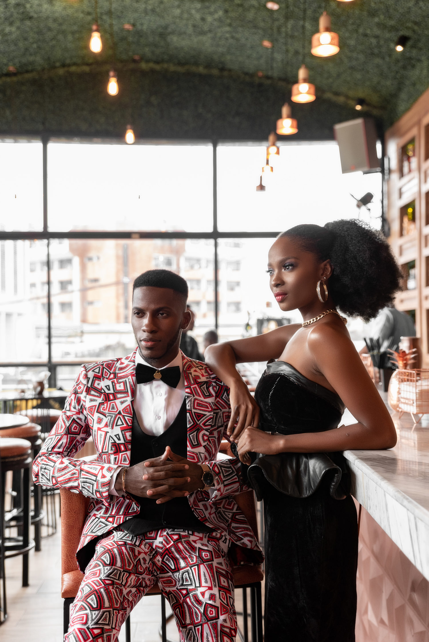 This Akin Faminu and Jemima Osunde Fashion Editorial is ALL the Pre-Wedding Inspo you Need