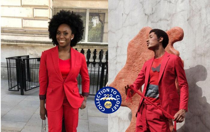 Chimamanda Adichie in Orange Culture