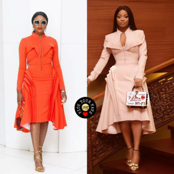 stephanie coker anad toke makinwa dressed in style temple