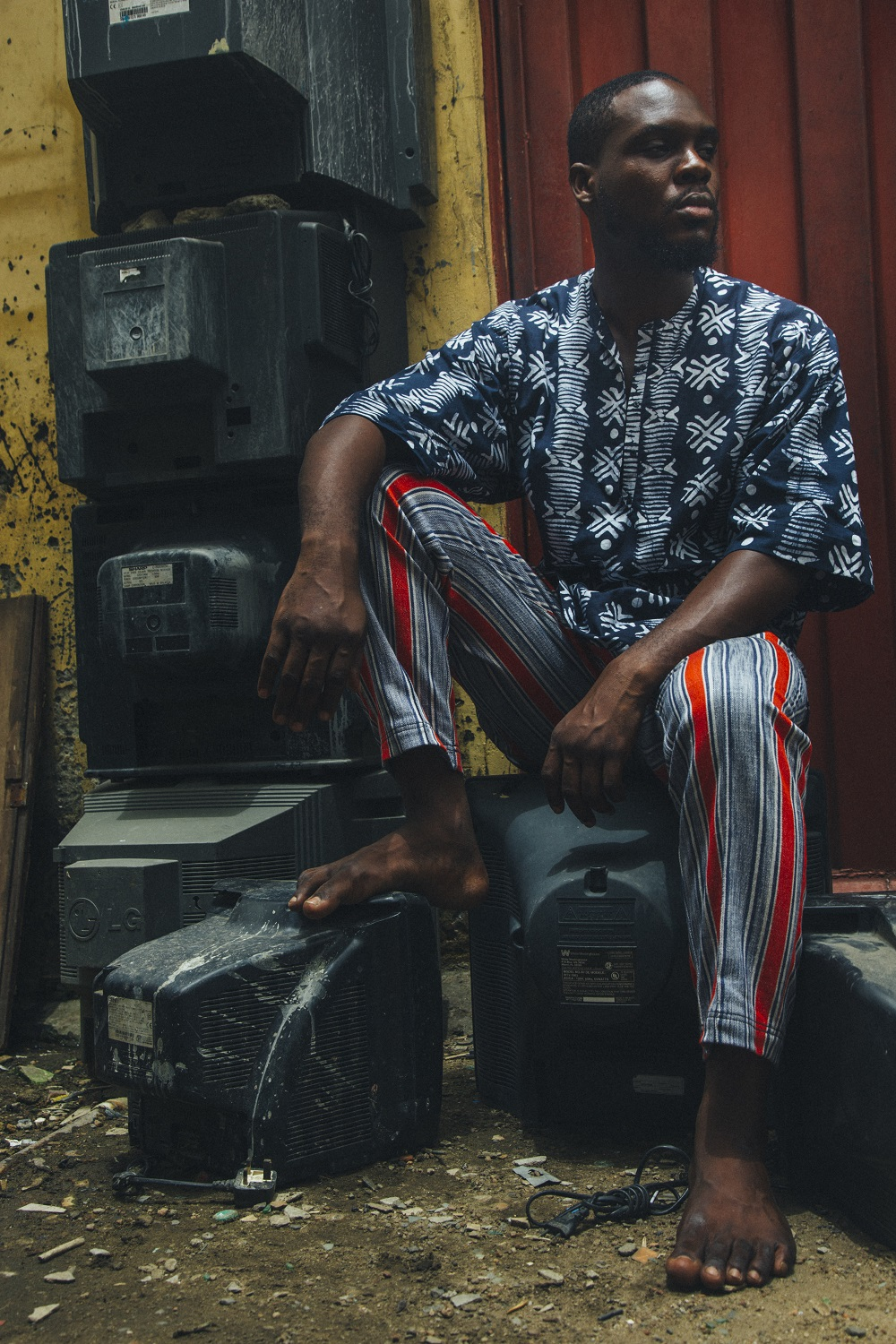 "You Need To See Gravalot's Afro-Contemporary ""Child Of The Sun"" Collection"