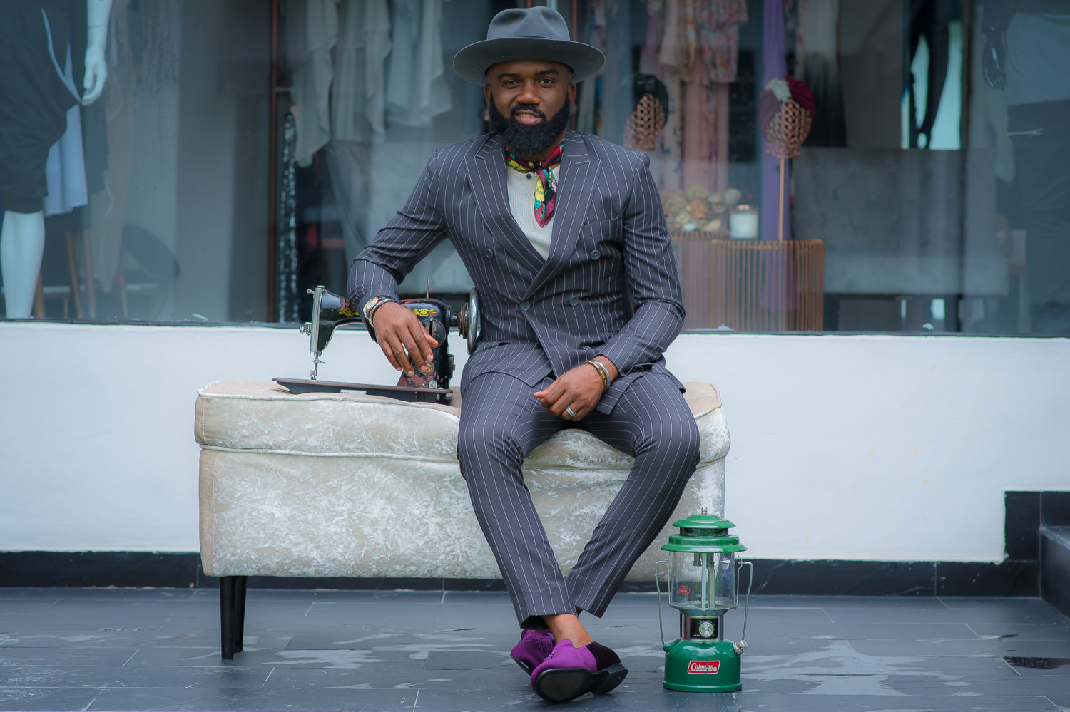 Noble Igwe Styles Timeless David Wej Designs in A Contemporary Way