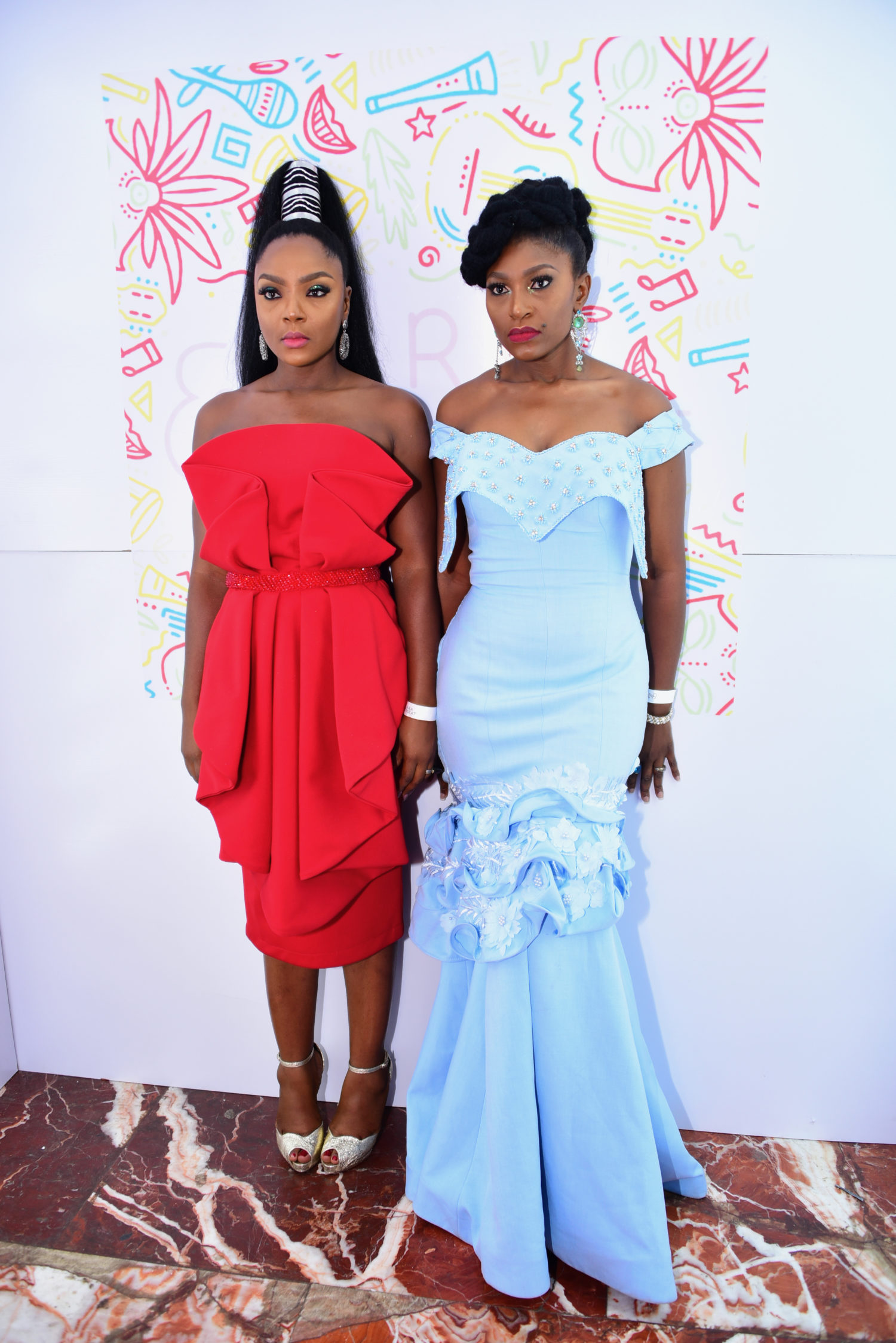 See Seyi Shay, Chioma Akpotha, Shaffy Bello & More At the Lara and the Beat Premiere