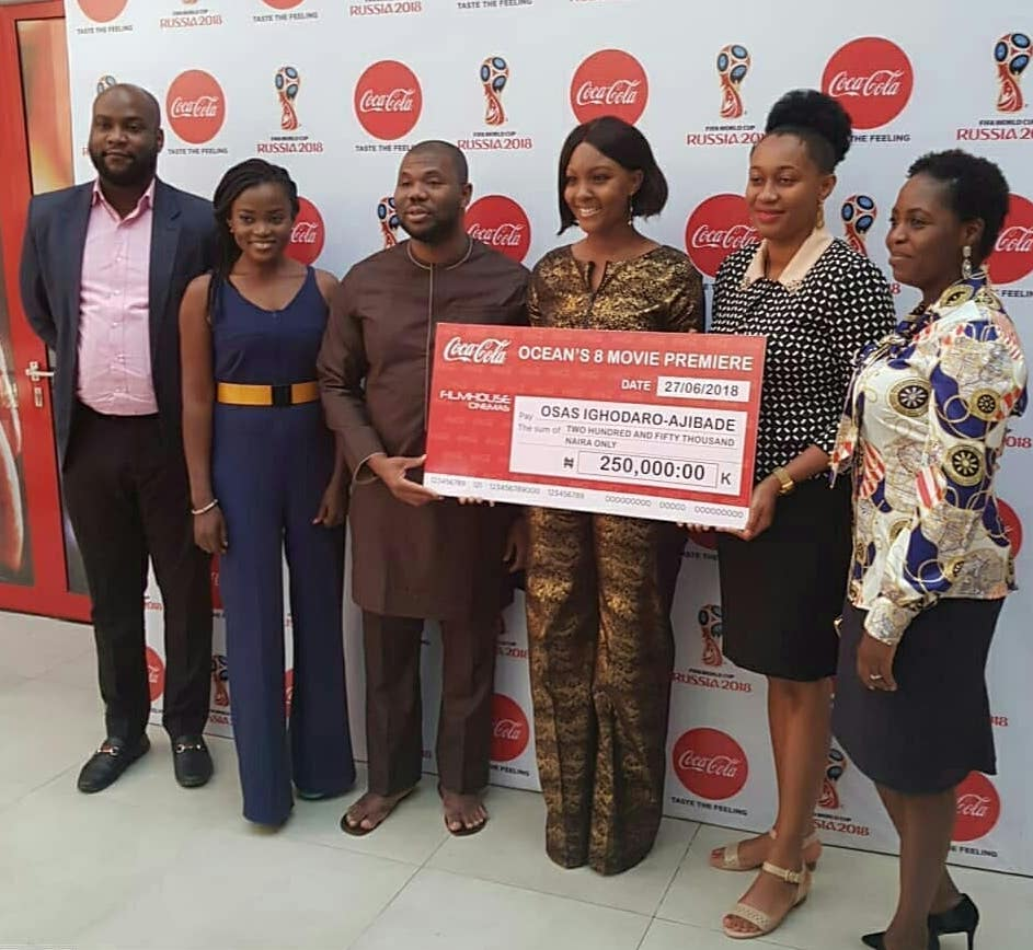 The Winners of the Ocean's 8 Premiere N750,000 Prize Are In—See Who Made the Cut