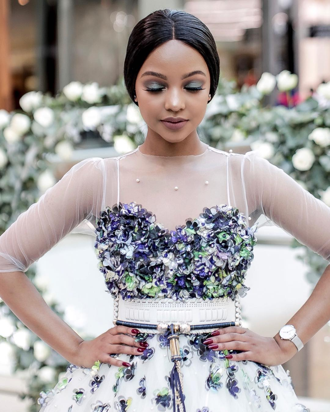Mihlali Ndamase Is The Newest Brand Ambassador And Face Of