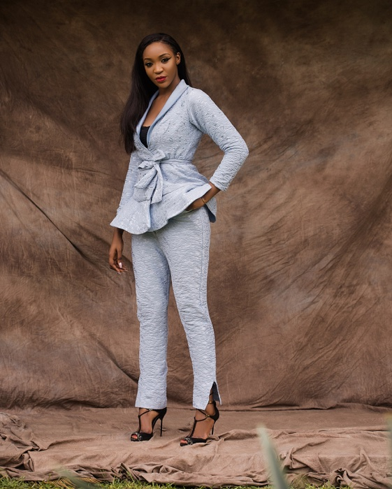 "Idia Aisien Is The Perfect Muse For Isi Atagamen's ""Flarebouyant"" Lookbook"
