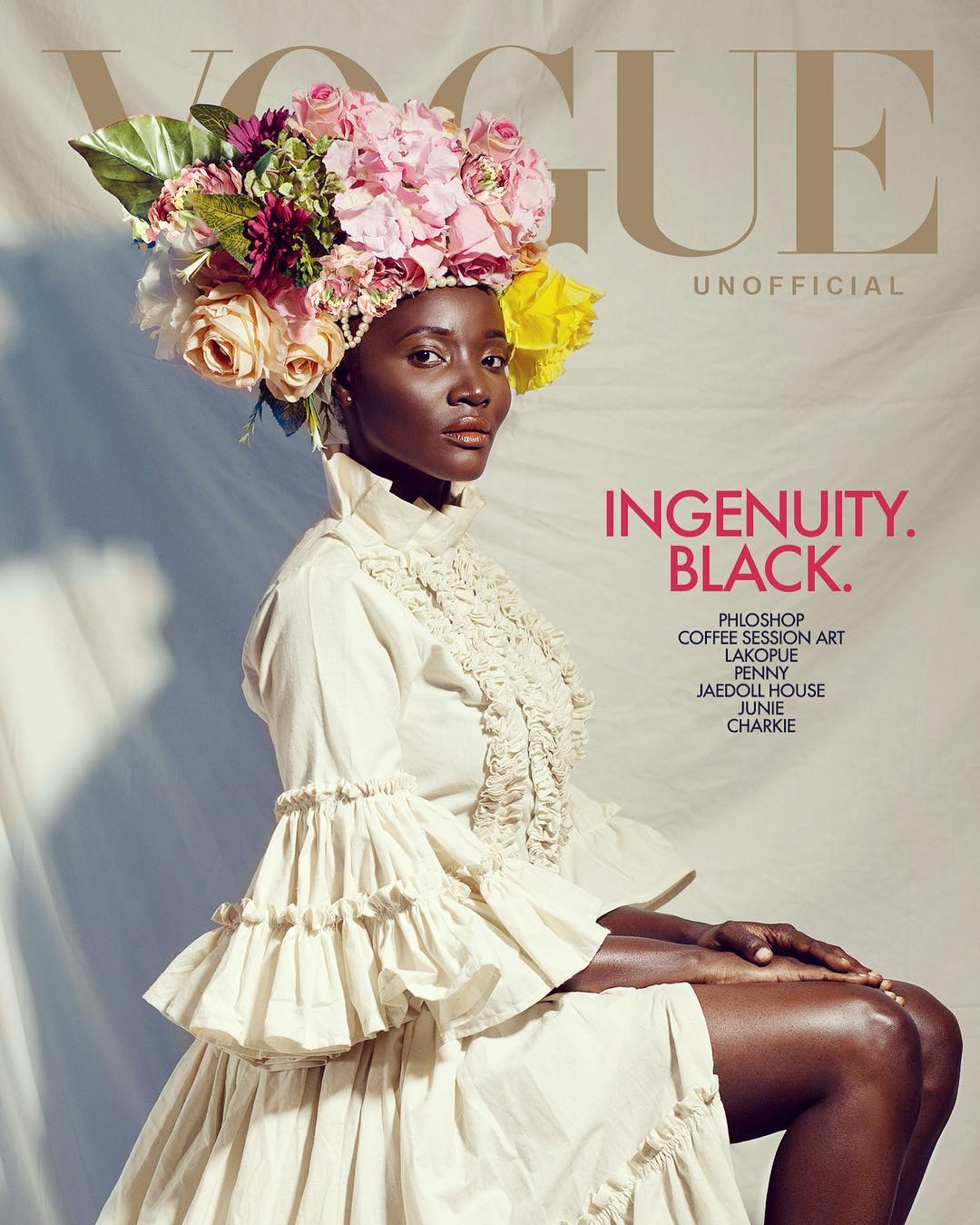 pholoshop recreated Vogue agazine covers