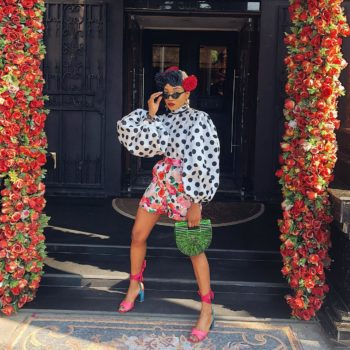 The Lady Vodka Wore The Daring Floral and Polka Dot Trend You Haven't Tried