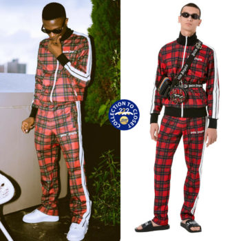 BN Collection to Closet | Wizkid In Palm Angels