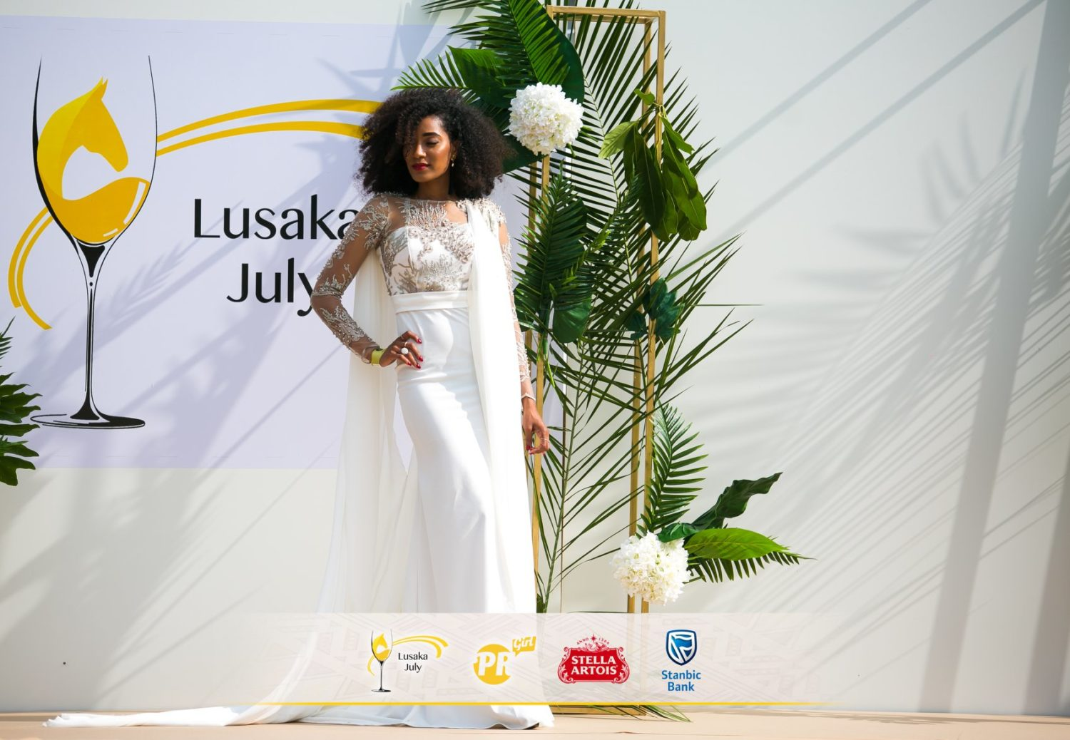 In Zambia, Ex Big Brother Africa Star Dillish Matthews, Maps Maponyane, and More Turn Out to Fete Third Annual Lusaka July