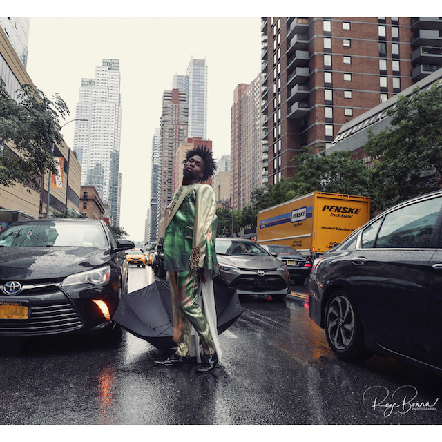 David Tlale Held A Superb Street Show At #NYFW & We're Totally Here For It!