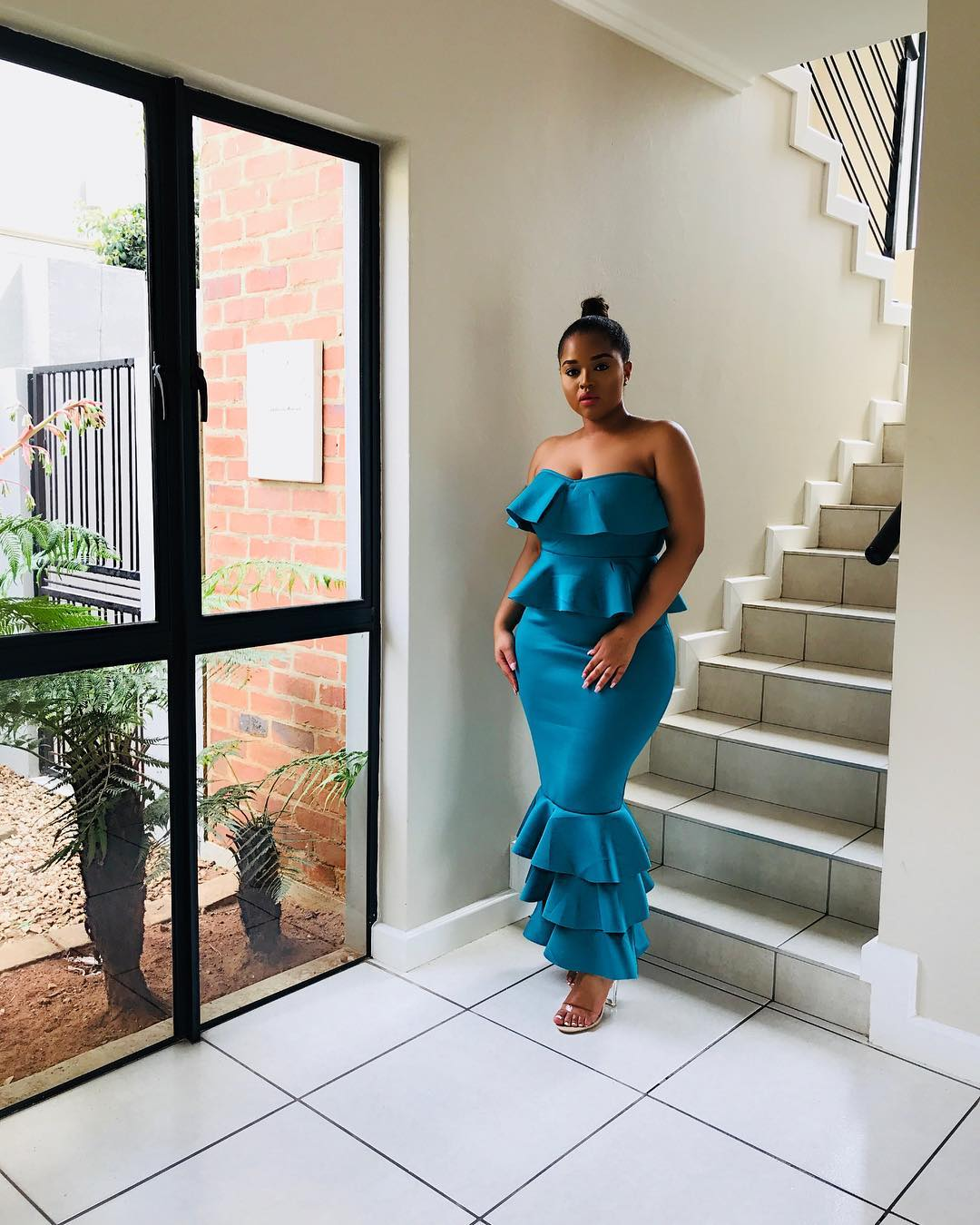 You Would Love Sarah Langa and Lungile Thabethe's Take On This Cute Dress By Fashion Never