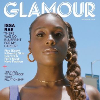 Issa Rae's Glamour Magazine cover
