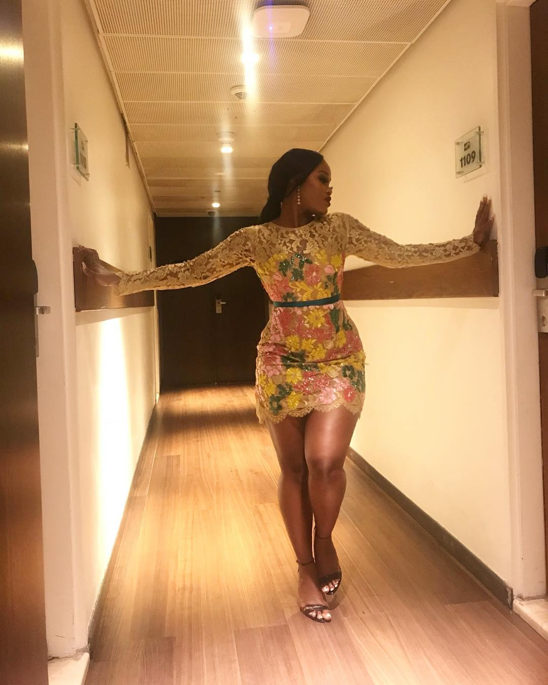 Cee C Won Red Carpet Style At #AMVCA2018
