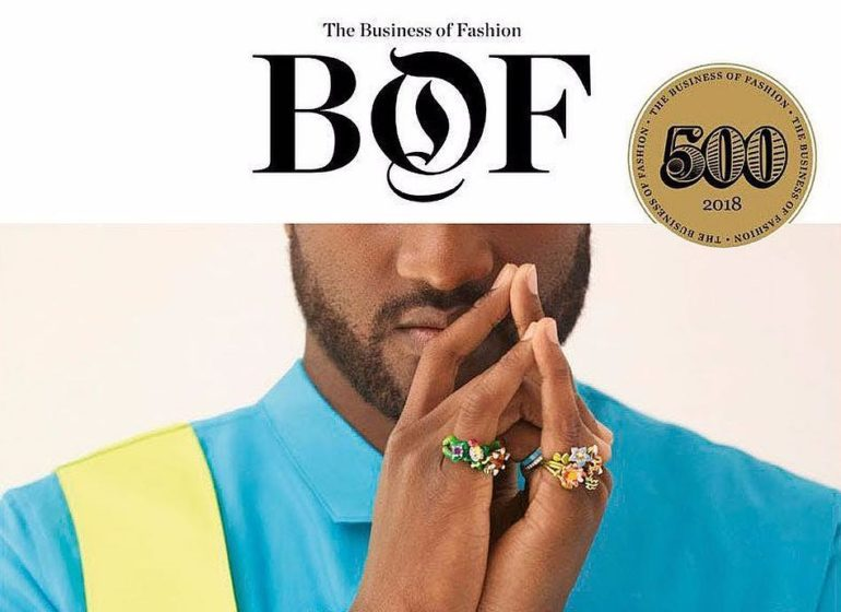 Virgil Abloh Is A Real Fashion Industry Disruptor, #BOF500 Print Edition Justifies It!