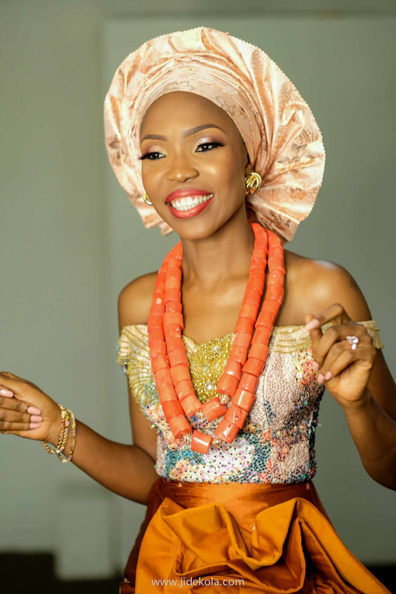 lala akindoju tubo look traditional