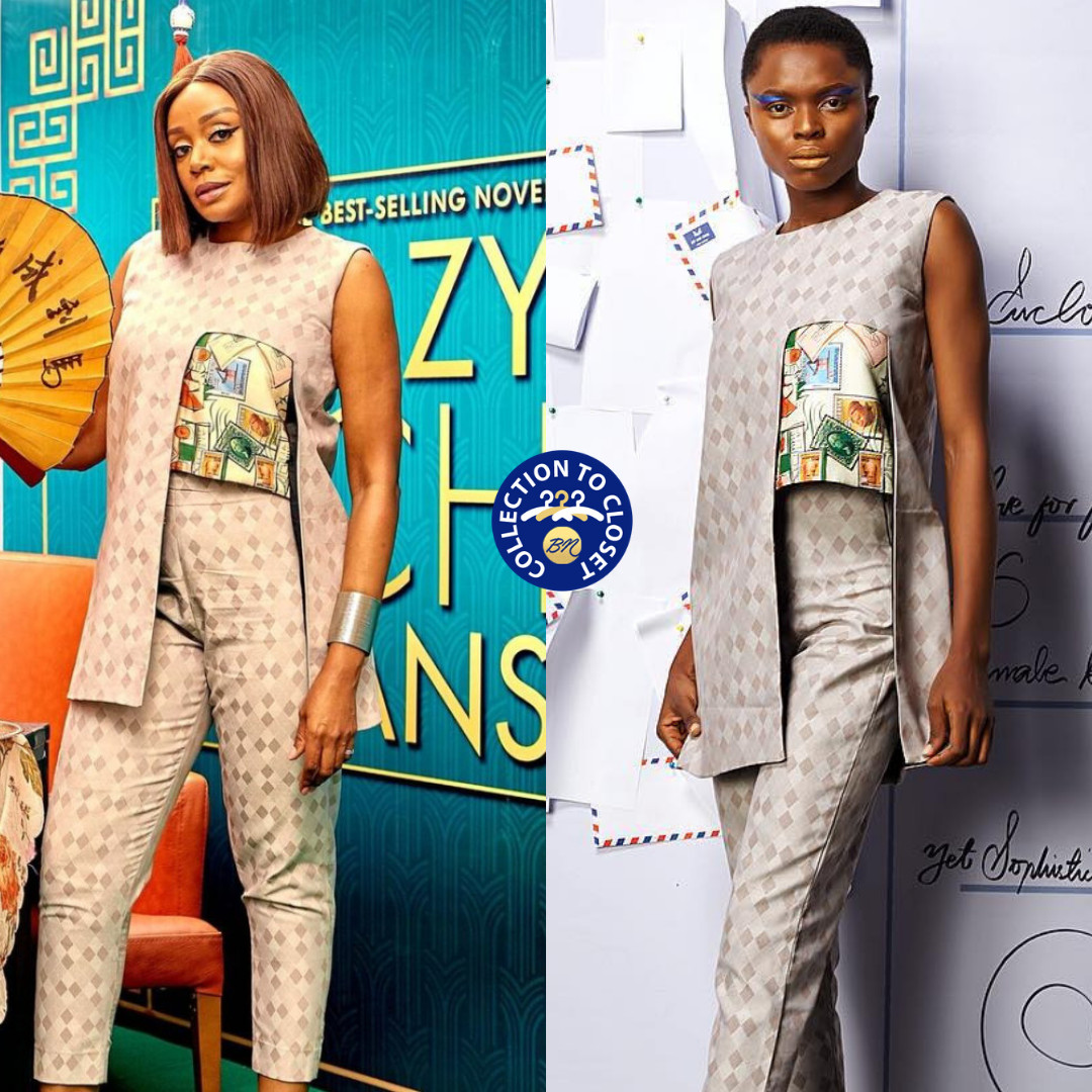 Michelle Dede Wore A Stunning FIA Asymmetrical Stamp Set To #CrazyRichAsians Movie Screening