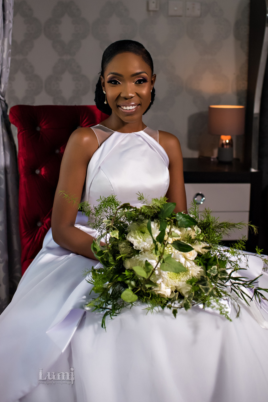 Lala Akindoju Got Married in the Most Modern Wedding Dress