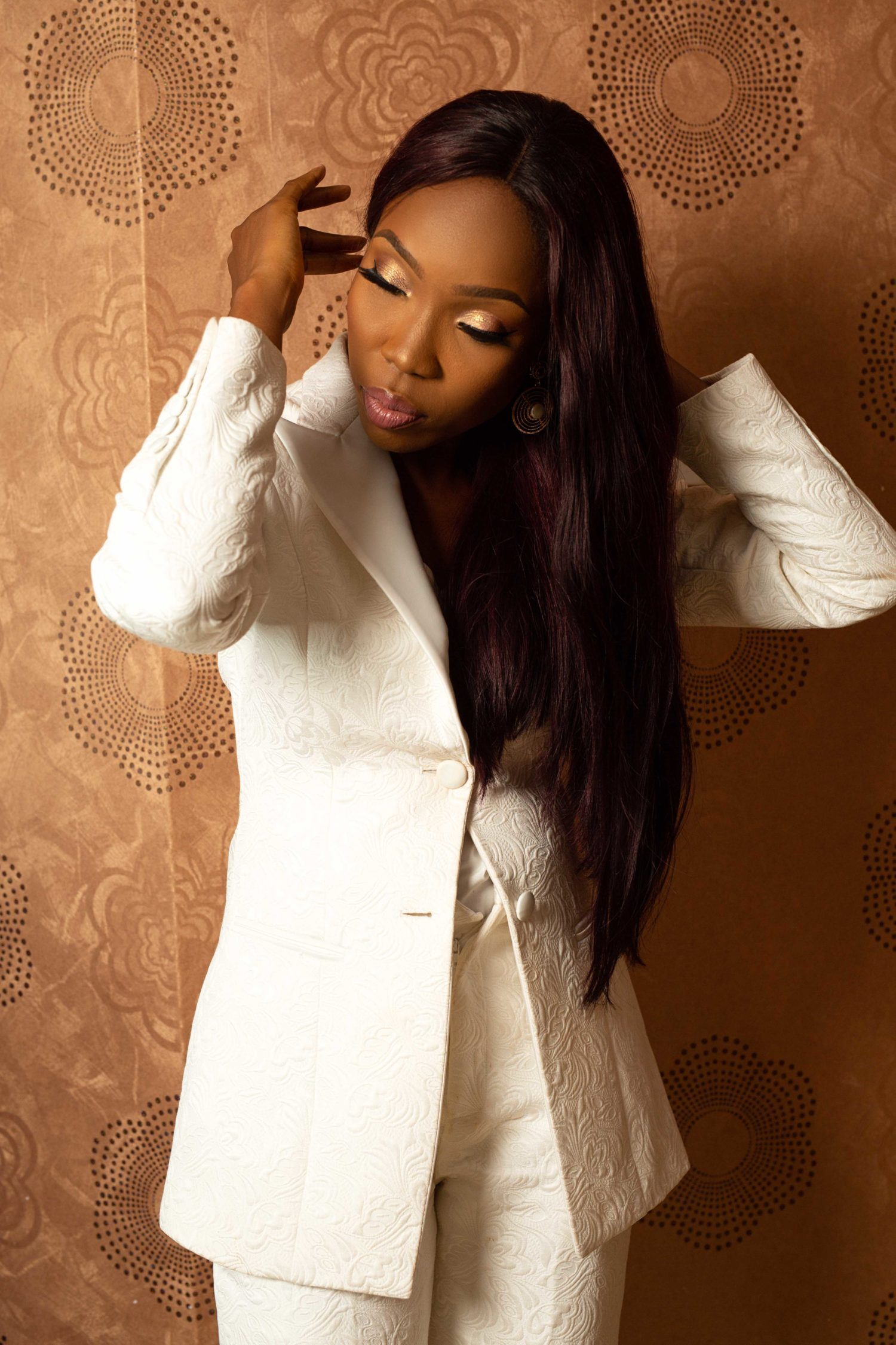 Here's Lala Akindoju Looking Dapper In A Mai Atafo Suit