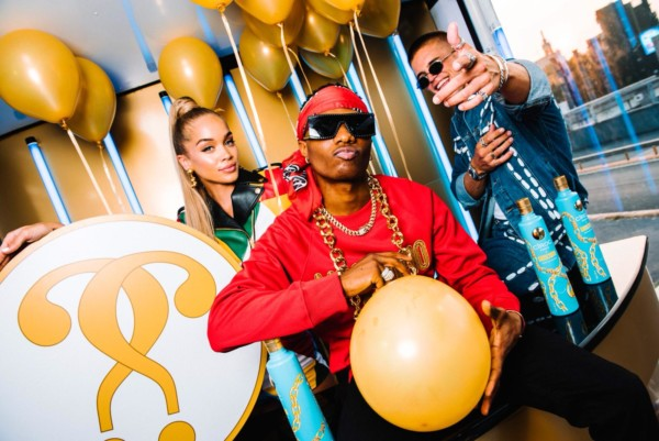 You Need to See Dave Benett's Shots of Wizkid at the Milan Fashion Week Photocall of the Moschino x CÎROC Collaboration Launch