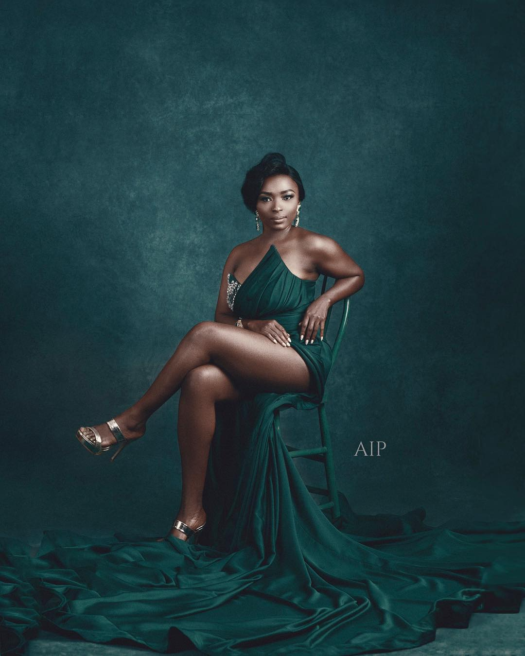 Aham Ibeleme's Celebrity Portrait Studio at AMVCA 2018 Upped Everyone's Instagram Game