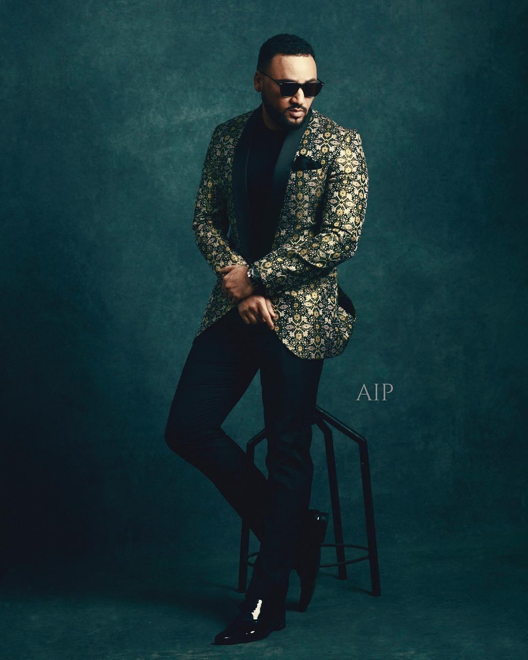 Aham Ibeleme's Celebrity Portrait Studio at AMVCA 2018 Upped Everyone's Instagram Game