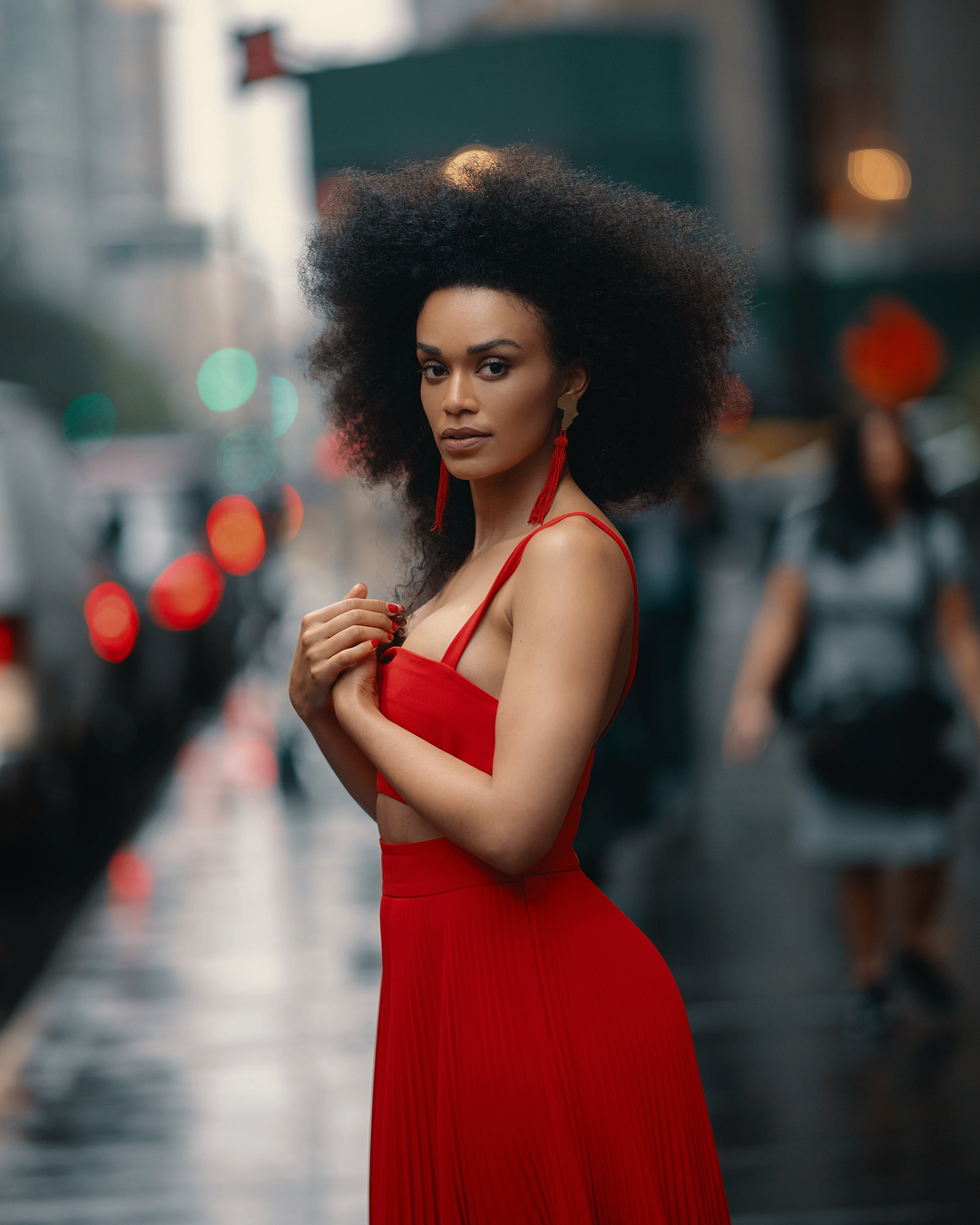 Pearl Thusi captured sweet mother-daughter moment