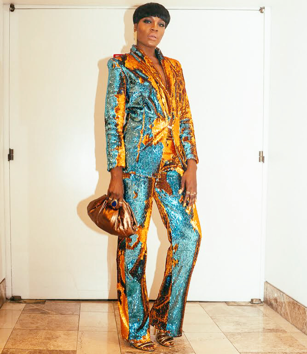 Seyi Shay Wore the Sparkliest Sequin Suit to the 2018 BMI Awards and She Looked AMAZING!
