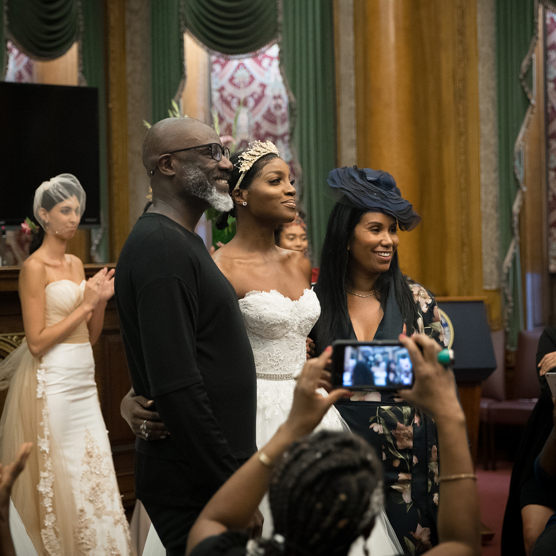 Seyi Shay & Whitney Madueke Dazzled on the Runway for Kosibah's NYFW Couture Bridal Show