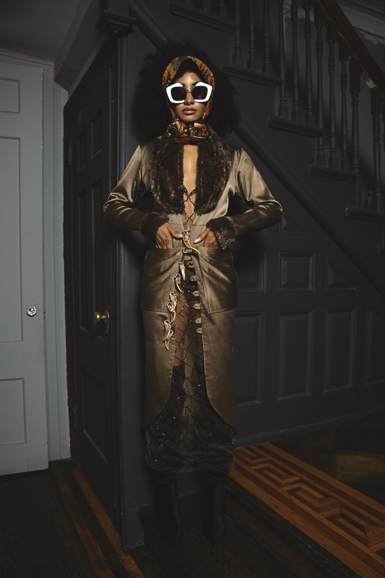 Weizdhurm Franklyn Debuts The Campaign for His Stunningly Ethereal Collection 'The Girl in the Mask'