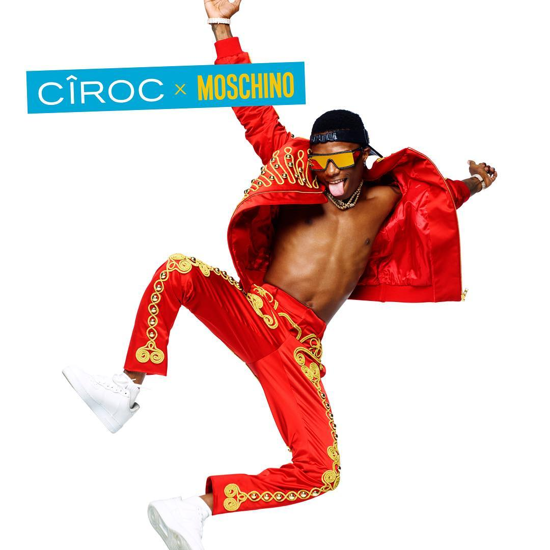 Wizkid, Thando Thabethe and Cassper Nyovest Are Collaborating with CÎROC X Moschino!