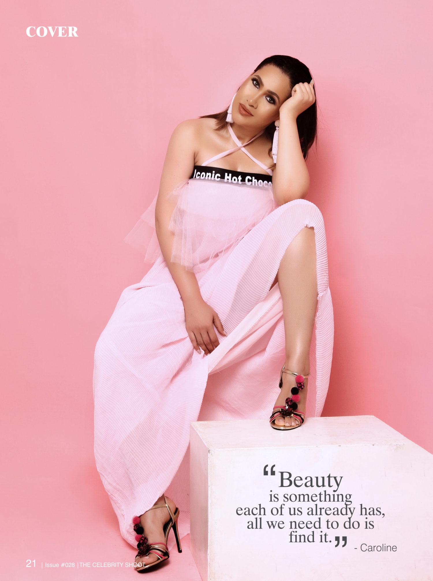 Caroline Danjuma For The Celebrity Shoot Magazine