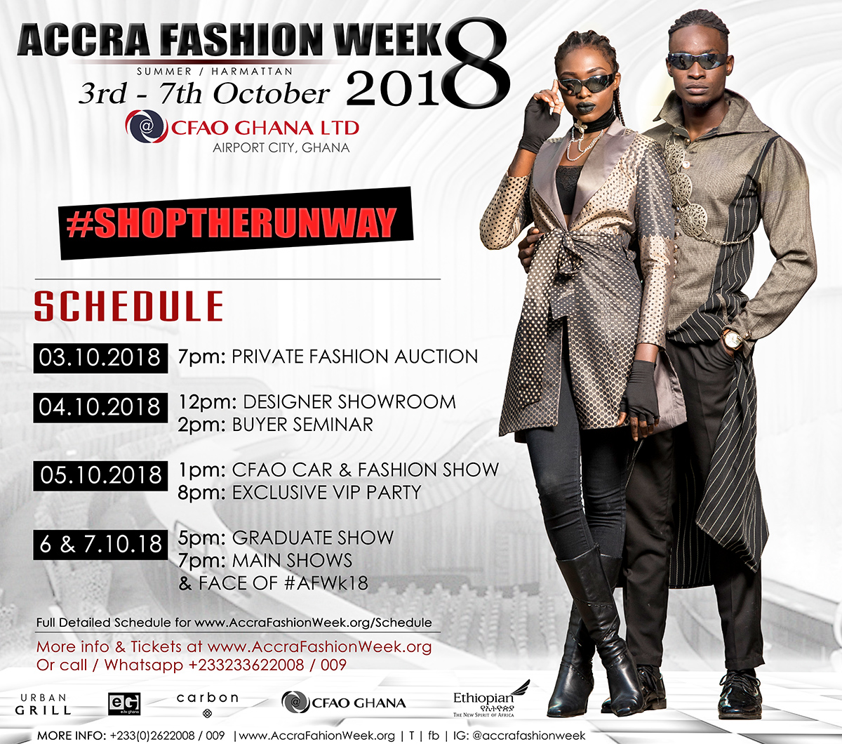 Accra Fashion Week Summer Harmattan18 To Be Hosted By CFAO