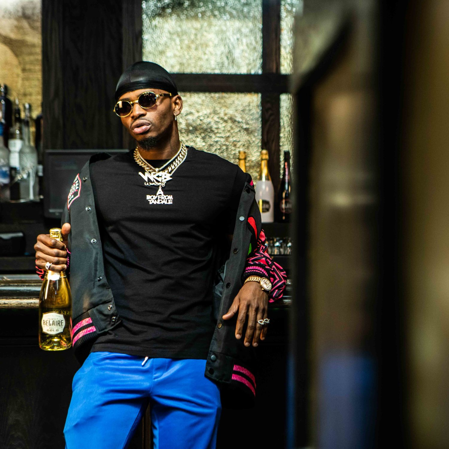 Exclusive: Behind the Scenes with Diamond Platnumz and Belaire