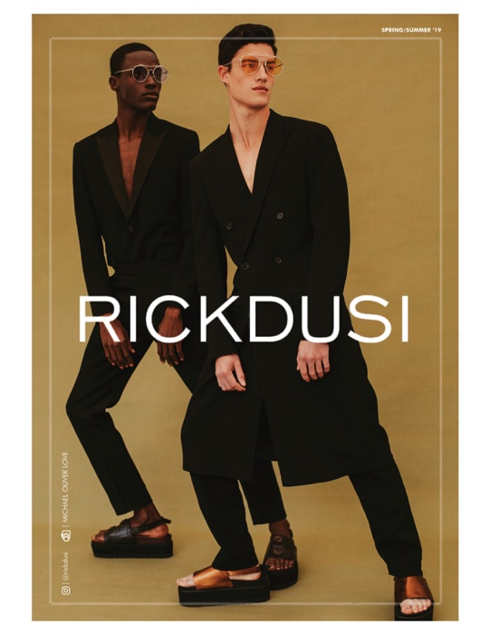 "Rick Dusi Presents Spring/Summer 2019 Campaign –  ""The Luxe Man"""