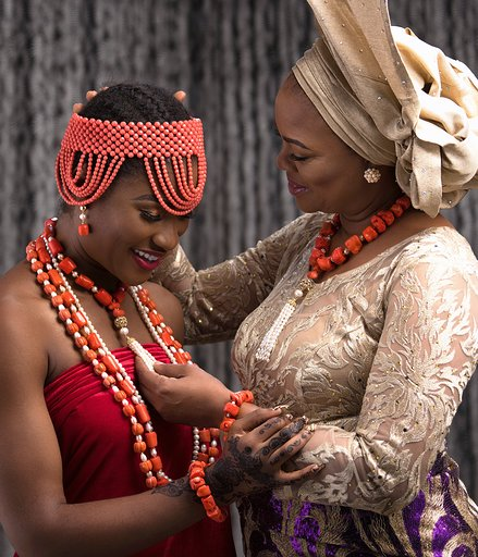 "Every Bride Will Covet The ""Adesuwa"" Jewellery Collection By Cornucopia"