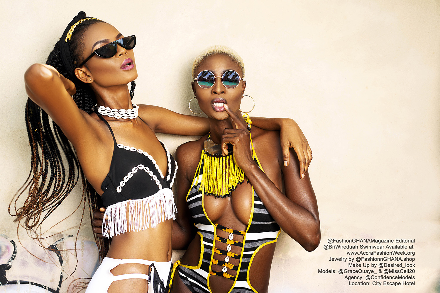 This Bri Wireduah Swimwear Editorial Will Send You Straight To The Gym!