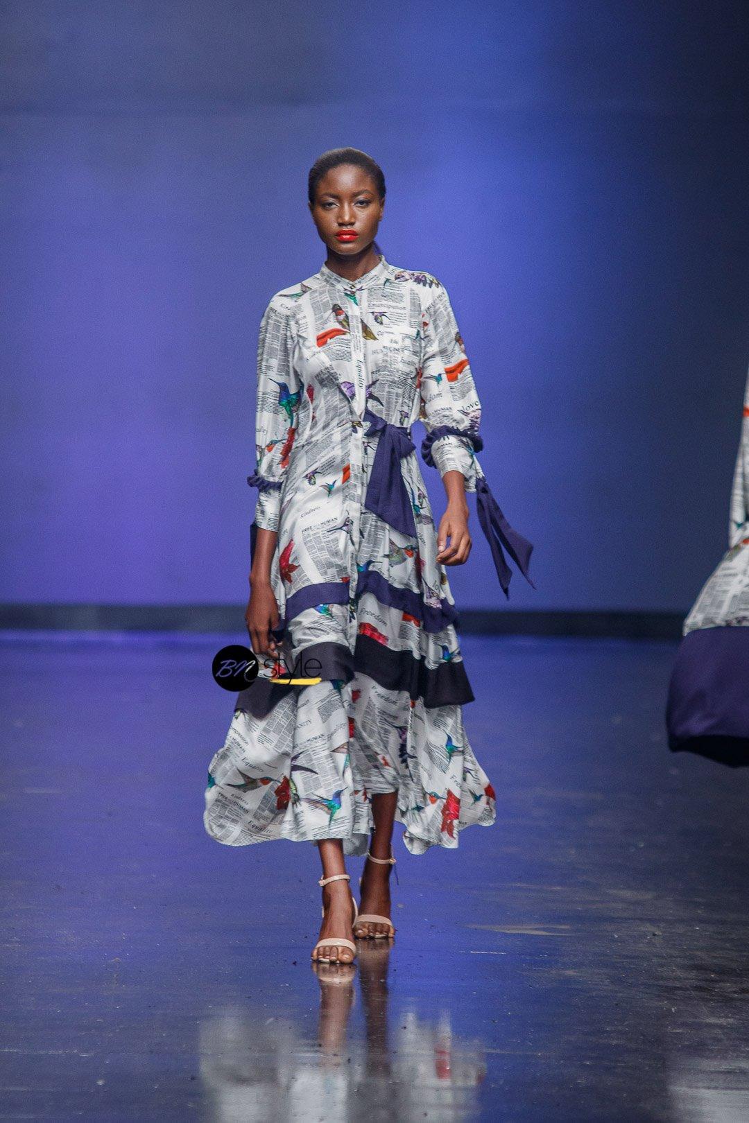 Lagos Fashion Week 2018   Anyango Mpinga