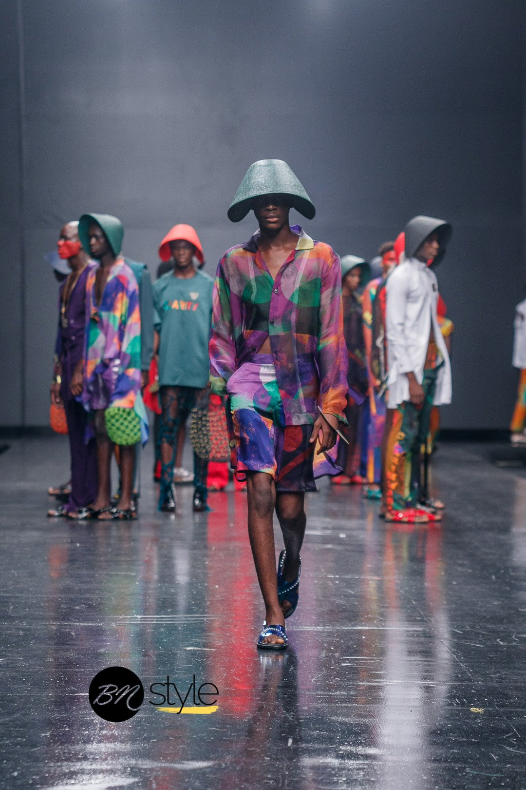 Lagos Fashion Week 2018   Orange Culture