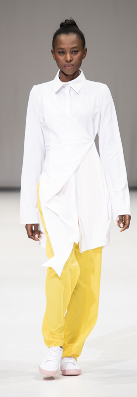 South Africa Fashion Week A/W 19: Cindy Mfabe