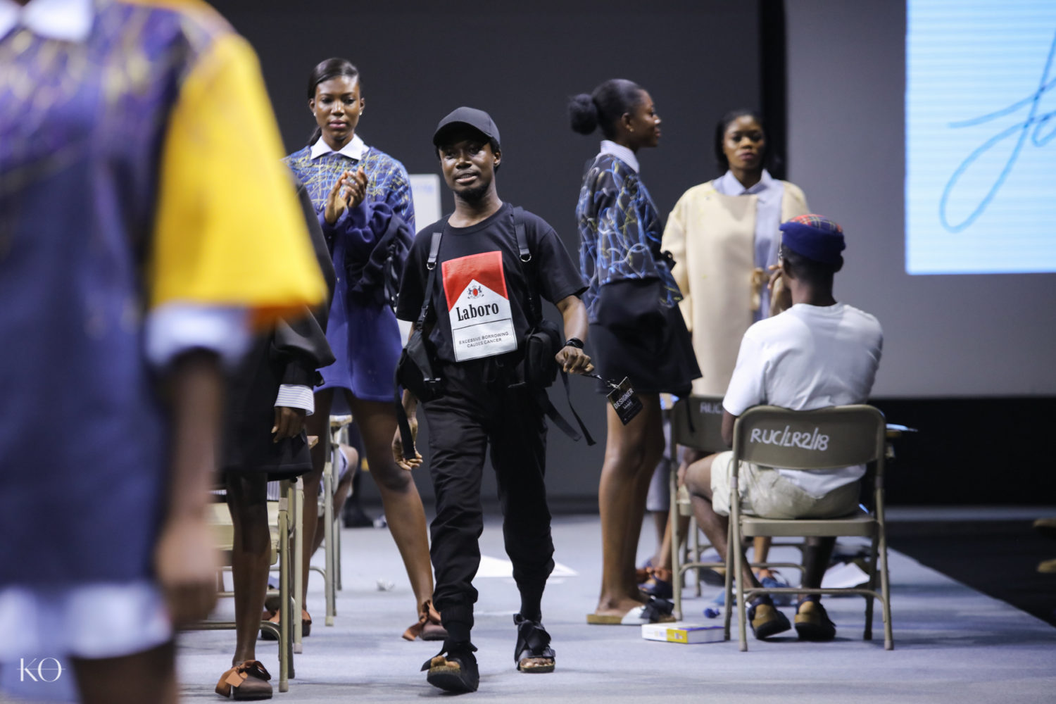 Glitz Africa Fashion Week 2018 #GAFW2018  | Papa Oppong