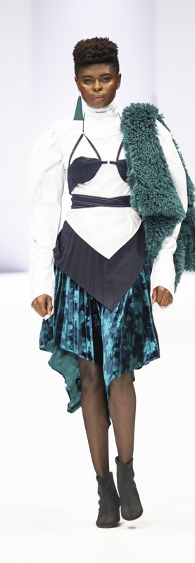 South Africa Fashion Week A/W 19: Thebe Magugu