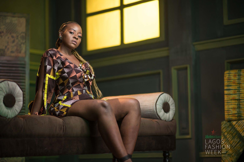 See Every Stunning Look From Kelechi Amadi-Obi's Heineken Lagos Fashion Week 2018 Portrait Studio – Day 2