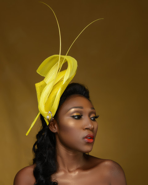 "You'll Definitely Covet Hattabeles Couture Spring/Summer19 Hat Collection ""Uyai Iban"""
