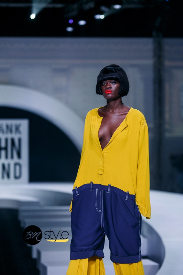 GTBank Fashion Weekend 2018 | Gozel Green