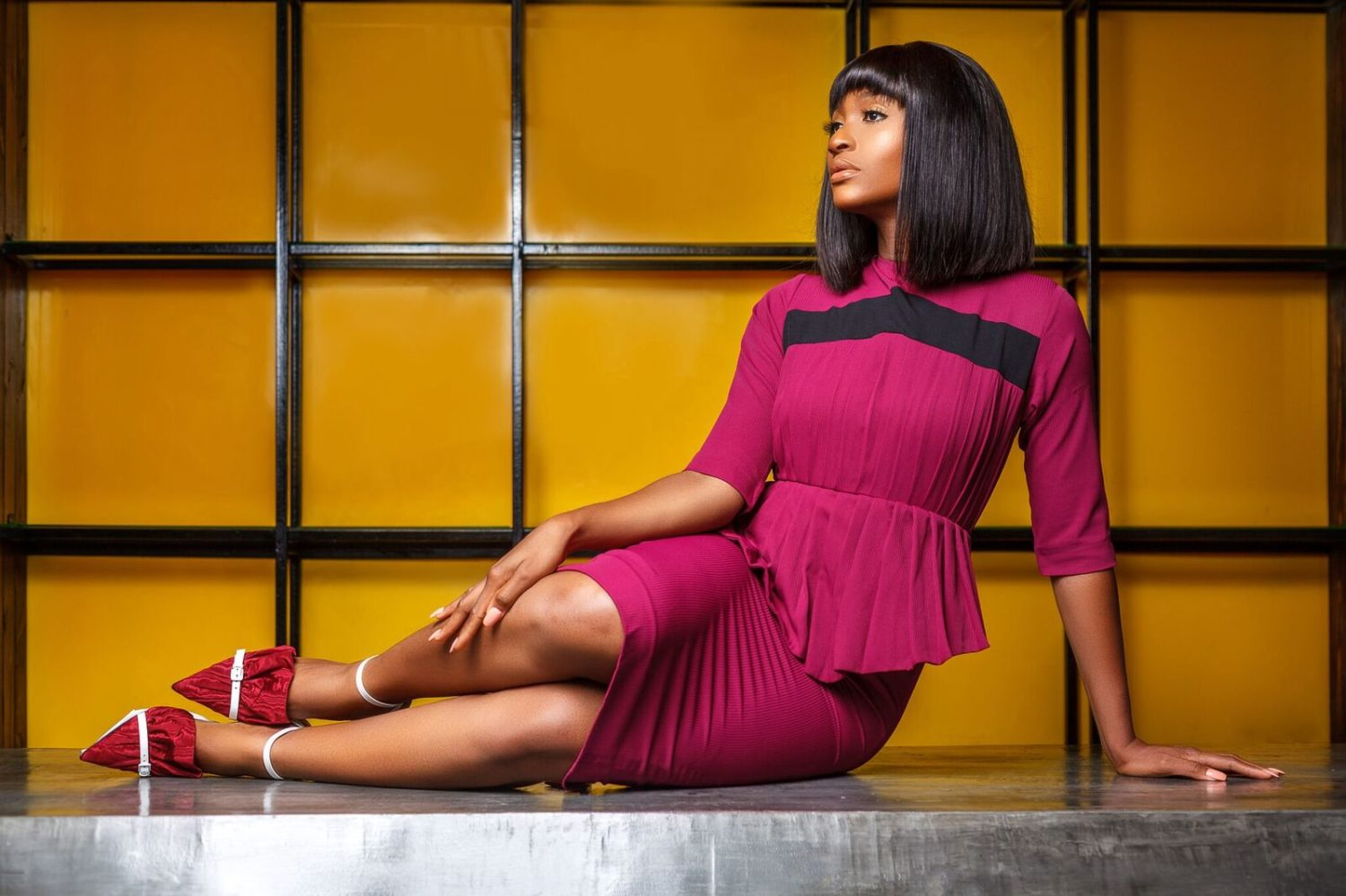 "Powede Awujo Is The Perfect Muse For Lady Biba's ""Lady In Line"" Campaign"