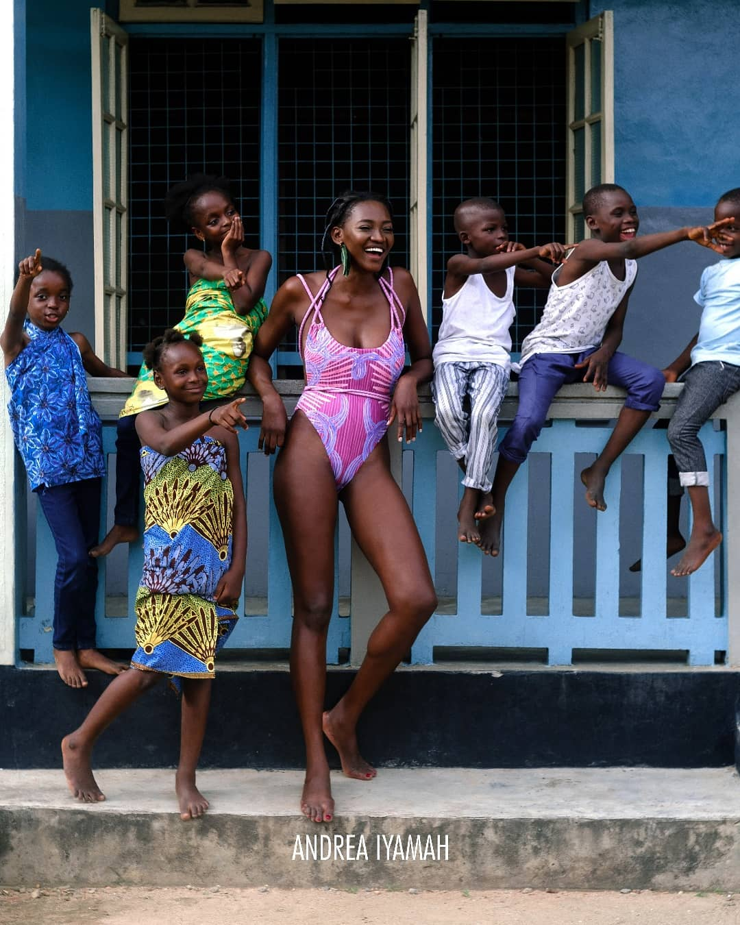 ICYMI: This Andrea Iyamah Swimwear x Oluchi CampaignWill Make You Feel Nostalgic For Sure!